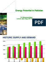 12. Pakistan Wind Power Potential