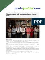 25.12.2016 Puebla on Line- RMV México Es Mas Grande Que Sus Problemas.