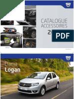 Catalogue Accessoires Dacia 2016