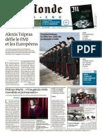 Le Monde Weekend Et 4 Suppléments Du Samedi 7 Juin 2015