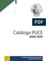 CatalogoPUCE2008_2009