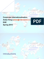 Corporate Internationalisation Slides