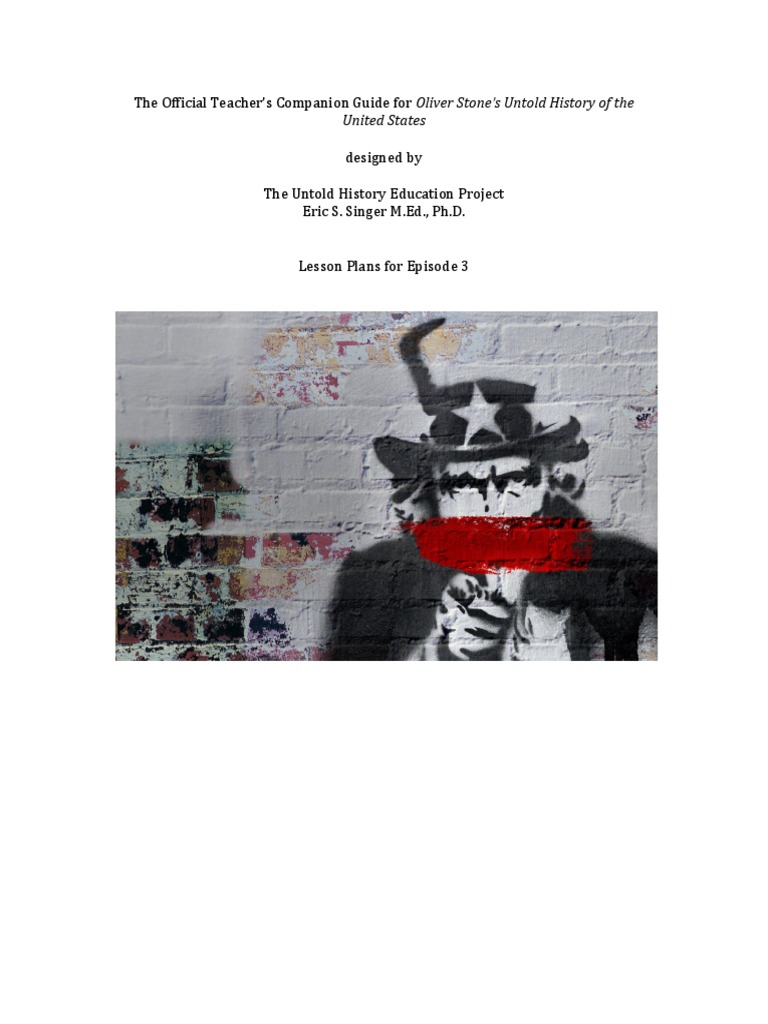 The Untold History Of The United States Pdf