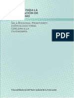Manual de Sentencias TEPFJ Sala Monterrey