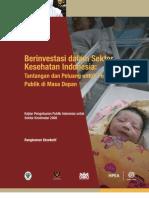 Kajian Pengeluaran Publik Indonesia Untuk Sektor Kesehatan