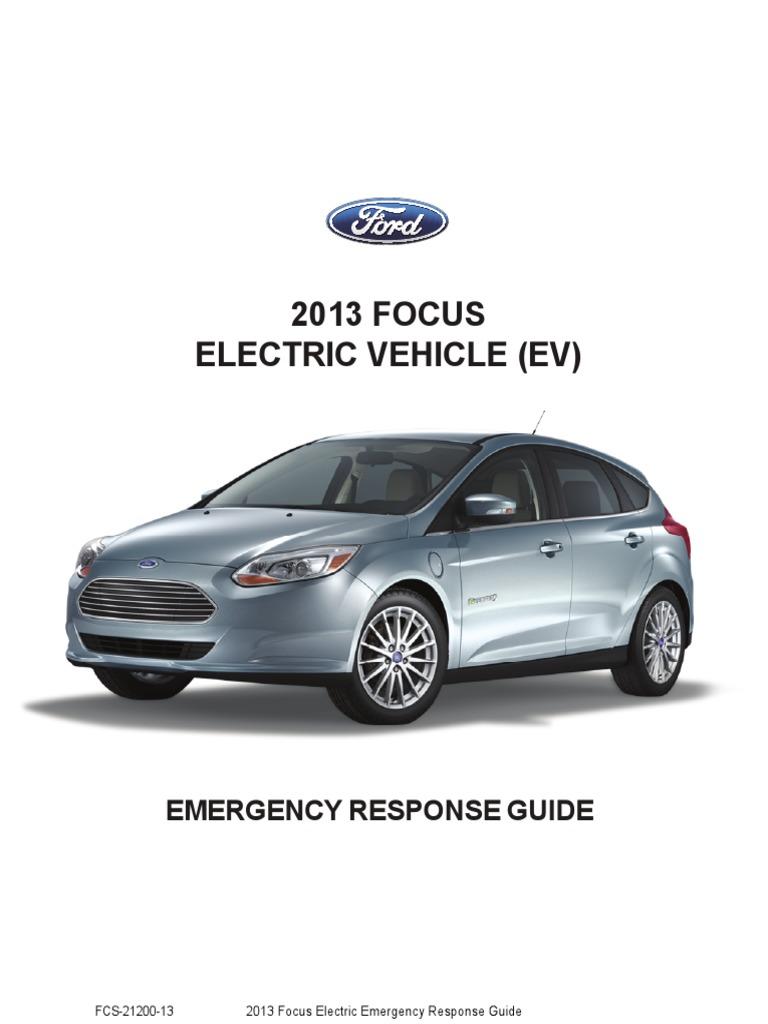 2013 focus ev erg high voltage personal protective equipment rh scribd com Crisis Response Guide ford fusion hybrid emergency response guide