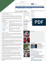 Pro-Putin Cult Urges Return to Soviet 'Glory'2002