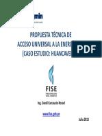 02. Propuesta Técnica de Acceso Universal a la Energía _(Caso Huancavelica_)