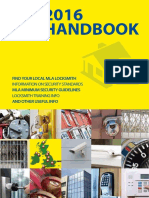 Master Locksmiths Association 2016 Handbook