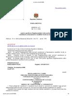 Regulamentul Privind Constituirea Consiliilor Locale Si Raionale