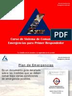 MCP SSO REG 038 V00 Curso Comando Para Emergencias
