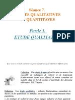 Marketing Etude Qualitative