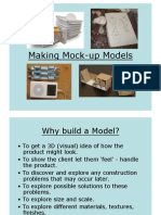 Making Mock Up Models