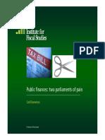 IFS (2009) Public Finances Paper