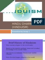 Hindu Dharma (Hinduism)