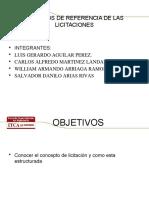 Licitacion Terminos de Referencias 2015 (1)