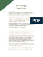Damon Knight - Los Analogos