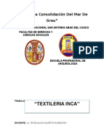 Textiles Inca Final
