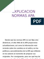 Explicacion Normas Apa