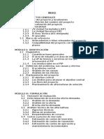 Estructura de Perfiles 2015