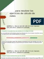 Guía Para Resolver Los Ejercicios de Cálculo