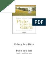 Hicks, Esther y Jerry - Pide y se te dará