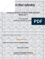 Principal of Electric drives