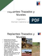 Trazados y Niveles Materia