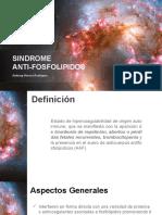 Sindrome Anti Fosfolipidos