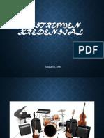Instrument Kredensial