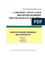 Manual RegisterKohort BayiBatita Ver.2016