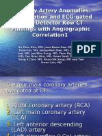 Coronary Artery Anomalies 2