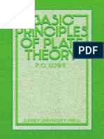 Basic Principles of Plate Theory