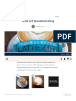 Latte Art Troubleshooting - Five Senses Coffee