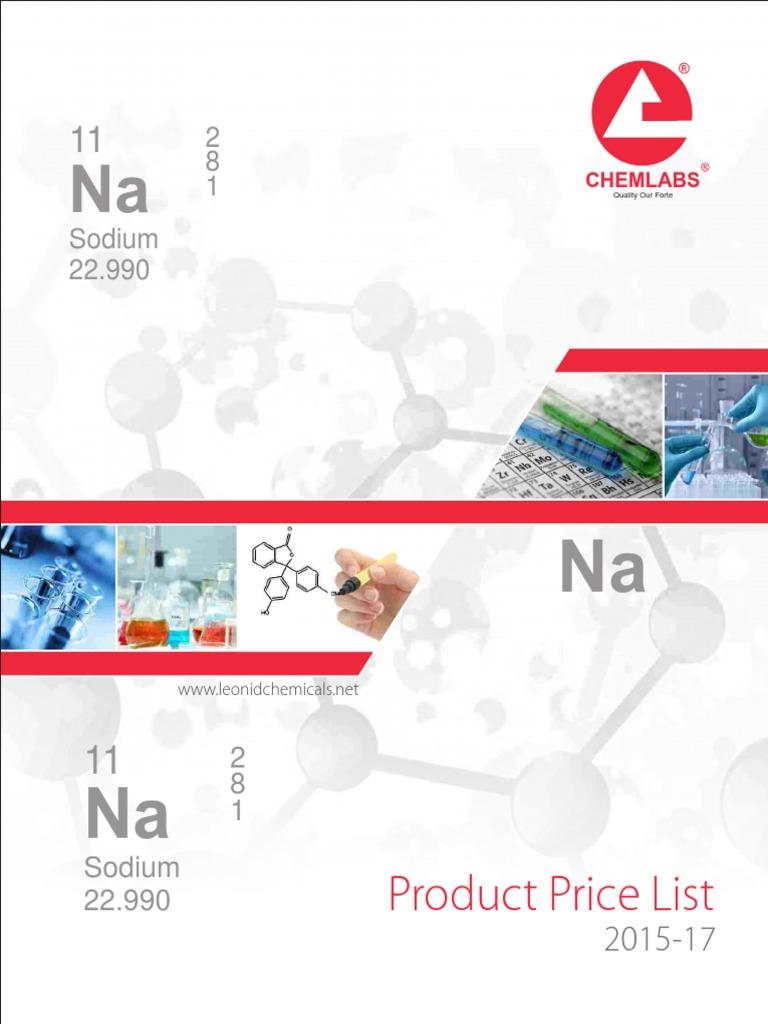 Catalog-2015 -17 | Solvent | Chemistry