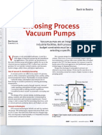 Choosing Process Vacuum Pumps, CEP, Aug-12