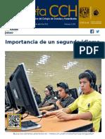 Gaceta  CCH 2015