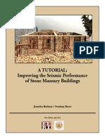 A-tutorial Improving the Seismic Performance of Stone Masonry Buildings