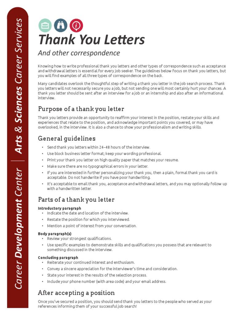 Thank you letters rsum communication expocarfo Choice Image