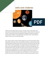 Planets and Chakras