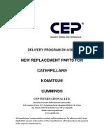 CEP Part Manual