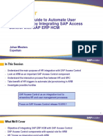 A Complete Guide to Automate User Provisioning by Integrating SAP Access Control With SAP ERP HCM- Johan Wouters(1)