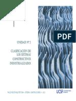 Clasificacion de Los Sistemas Constructivos No Tradicionales (Estructuras 3)