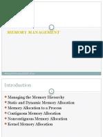 Unit 4 Memory Management