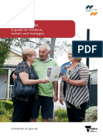 Caravan Parks a Guide for Residents Owners and Managers