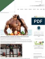 ¿Por qué algunos veganos no ganan masa muscular? | tuentrenadorvegano.com