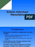 14. Sistem Informasi Manufaktur
