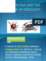 K - 1 Perspective and the Future of Oncology