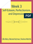 Week 3-Self-esteem Perfectionism and Depression