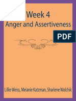 Week 4-Anger and Assertiveness